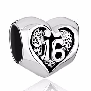 Authentic CHAMILIA Sterling Silver 16 Heart Charm